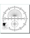 Oculaire micro-guide éclairé OR 12 mm