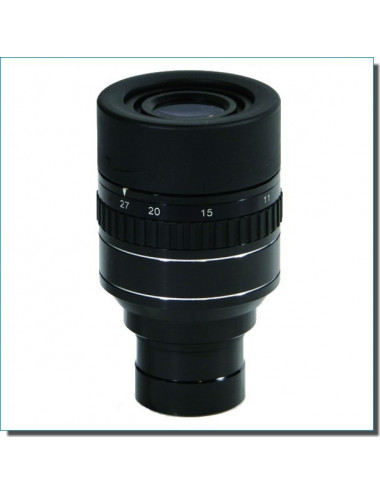 Oculaire zoom Perl 9 à 27 mm