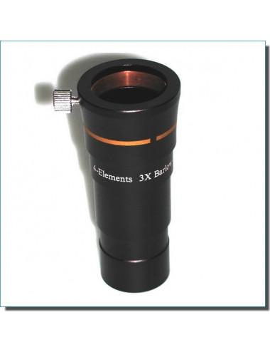 Lentille de Barlow courte Apo 3x 31.75mm