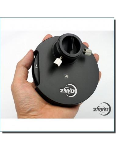 Roue à filtres manuelle ZWO 5 positions 5x31,75mm