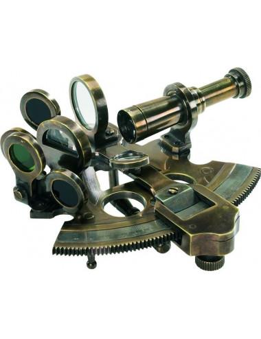 Sextant en bronze petit modèle