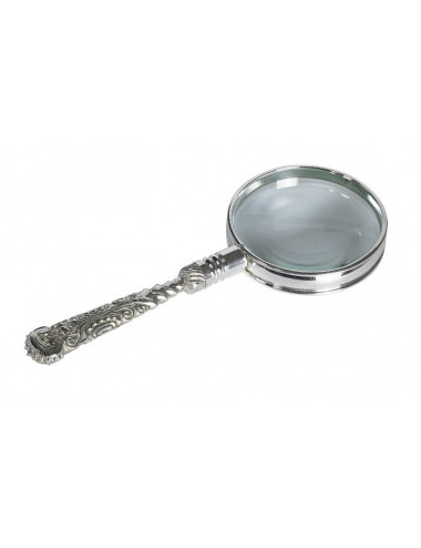 Loupe Roccoco argent