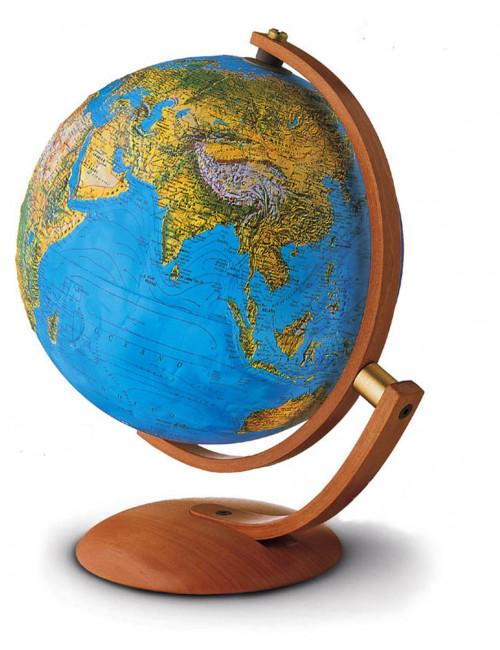 Globe terrestre lumineux Maximus bleu 37 Cm
