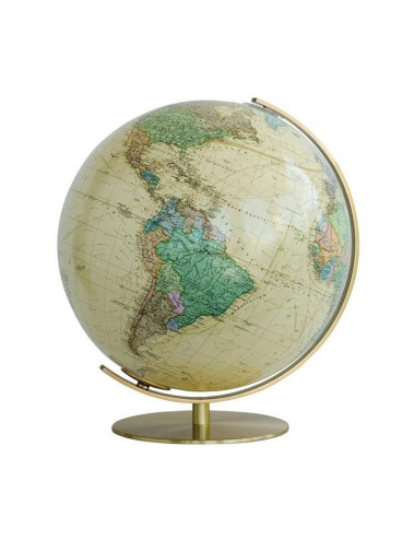 Globe terrestre lumineux Royal antique 40 Cm