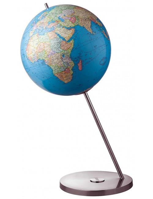 Globe terrestre lumineux magnum DUO 60 Cm pied métal