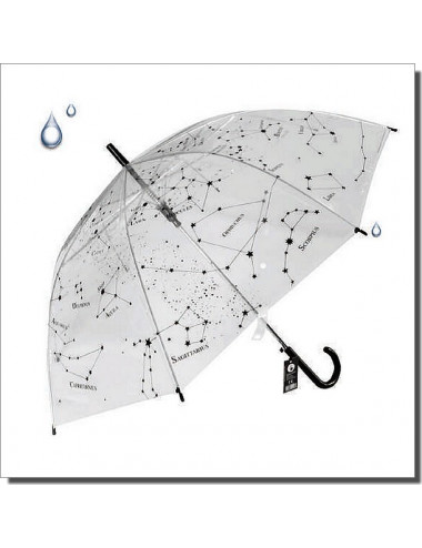 PARAPLUIE transparent Constellations