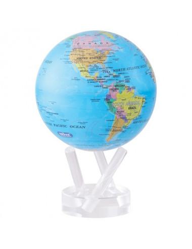 Globe MOVA autorotatif Bleu politique 114mm (4.5')