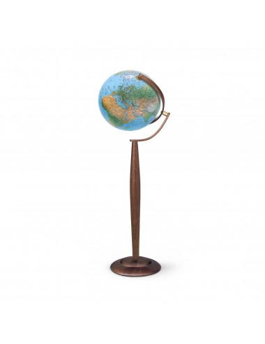 Globe terrestre lumineux  Sylvia Bleu 37CM PIVOTANT