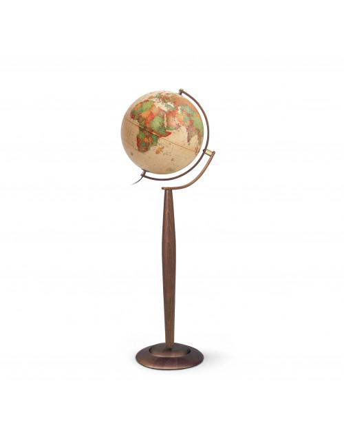 Globe terrestre lumineux Sylvia Antique 37CM PIVOTANT