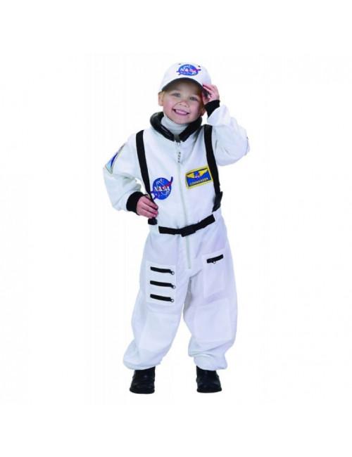 Combinaison blanche Astronaute 4-6 ans