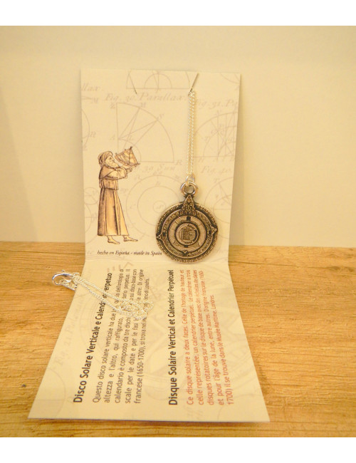 Collier calendrier perpétuel
