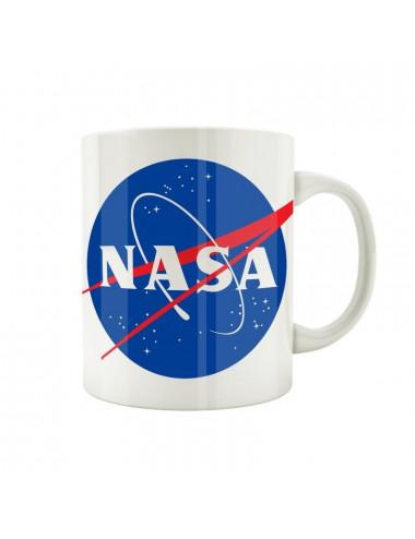 Mug Nasa blanc logo