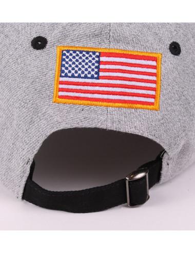 Casquette NASA noir-gris
