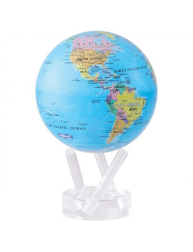 Globe MOVA autorotatif Bleu politique 216 mm (8,5')