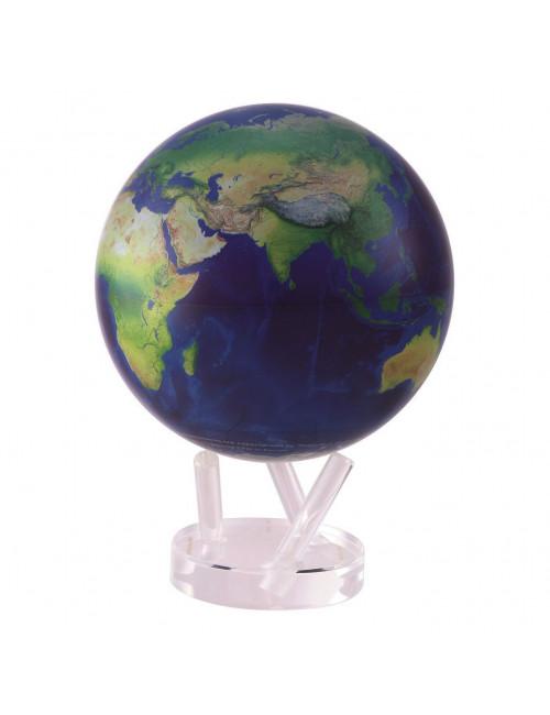 Globe MOVA autorotatif Bleu / vue satellite 216 mm (8,5')