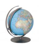 Globe basculant Terrestre DUO Acier 34 Cm