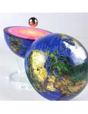 Globe Lumineux Electromagnétique 2 en 1