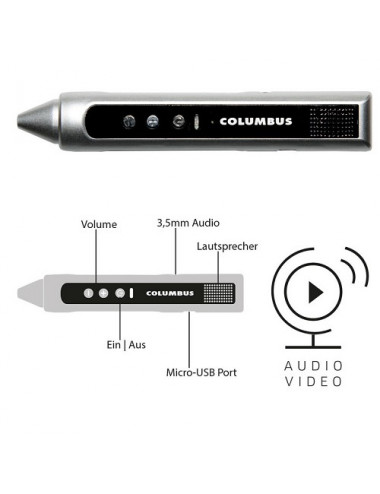Stylet COLUMBUS AUDIO/VIDEO