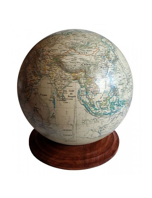 Globe TERRESTRE style ancien 25.5 cm