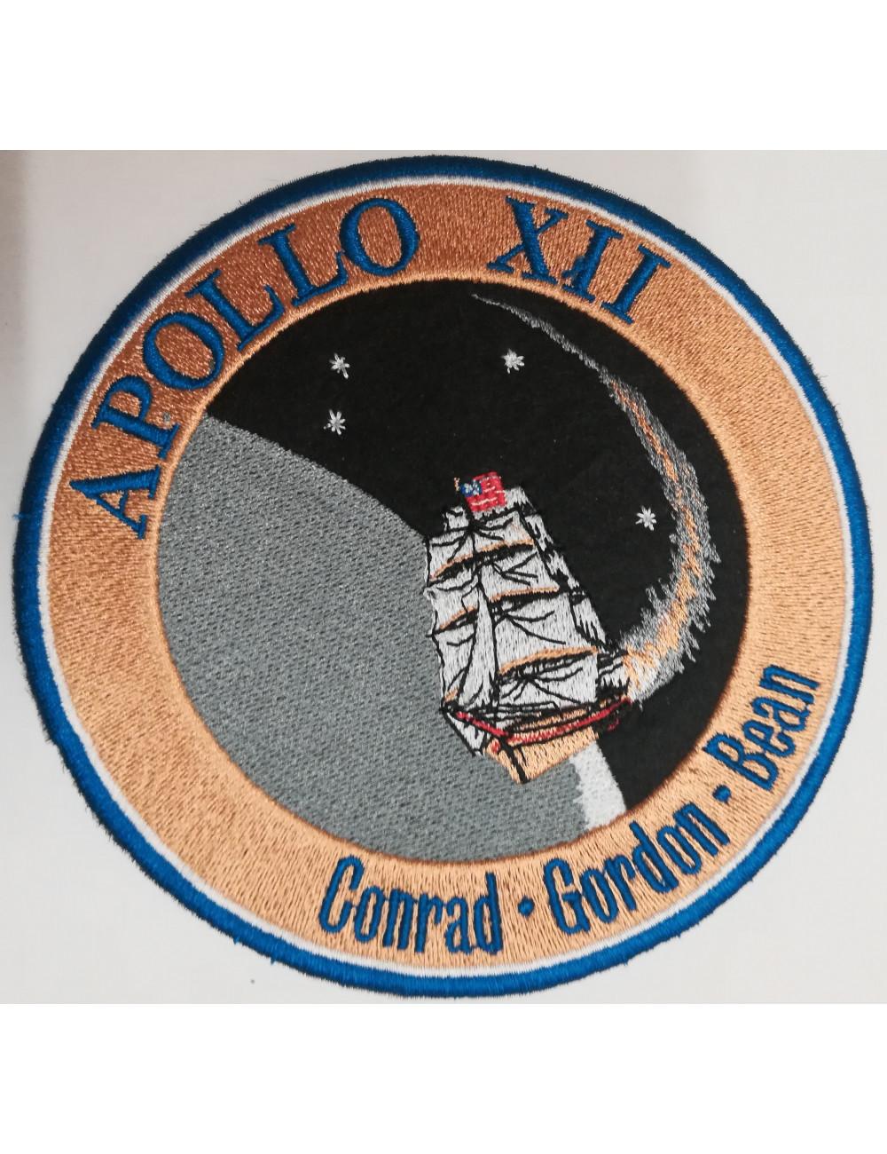 Ecusson thermo-collant Mission APOLLO XII