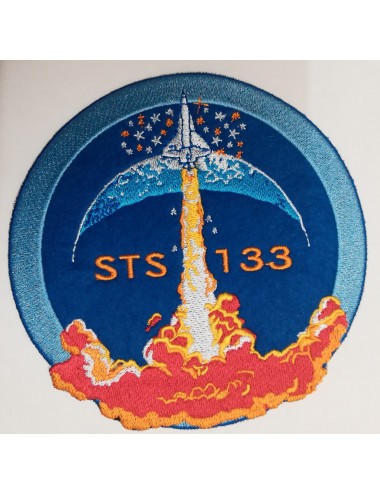Ecusson thermo Mission STS 133