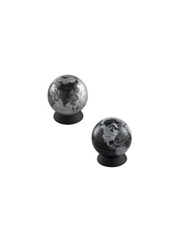 Tirelire globe Argent