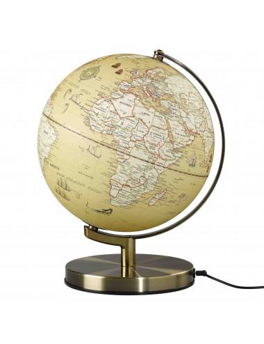 Globe lumineux Vintage 25 cm