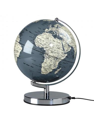 Globe lumineux couleur Gris 26 cm