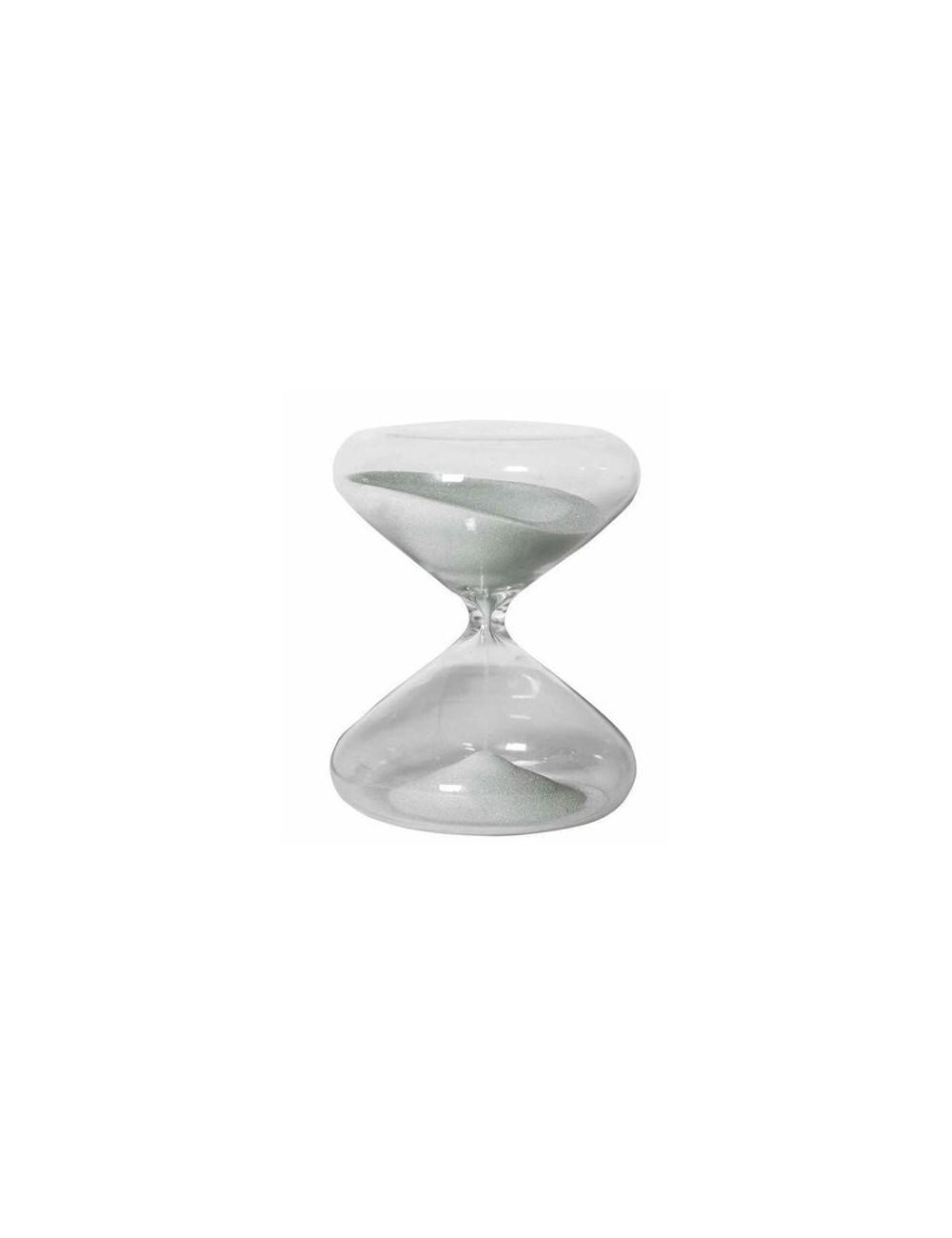 Sablier sable blanc en verre