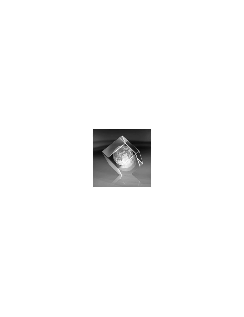 LUNE bloc 3D cube 60mm