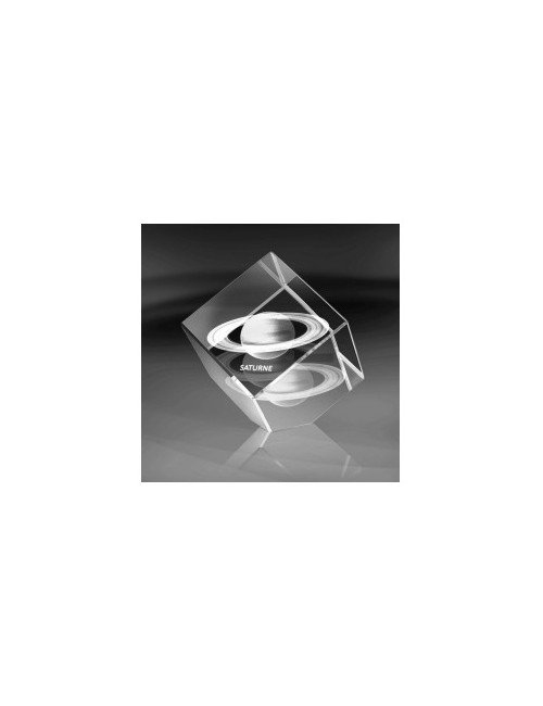 SATURNE bloc 3D cube 60mm