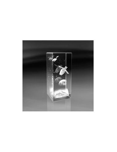 SATELITE bloc 3D vert. 30x70x30mm