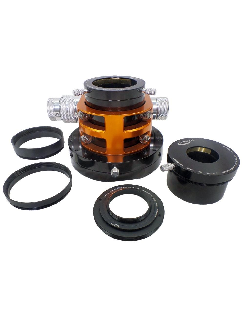 Porte-oculaire Crayford CHL 2,5 pour C11/C14 Edge HD Moonlite