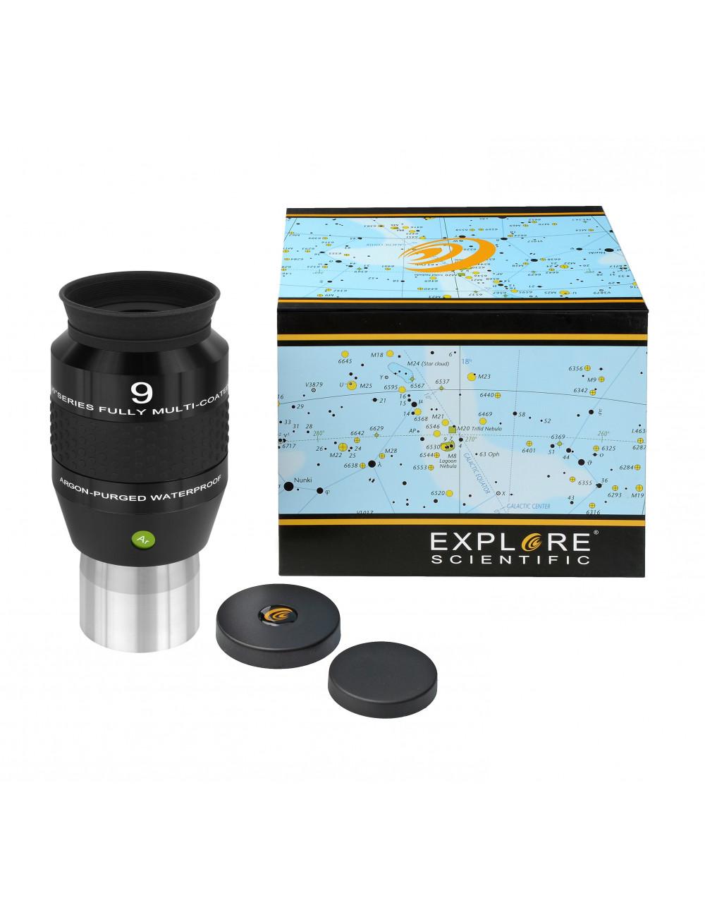 Oculaire Explore Scientific 9mm 120° Argon