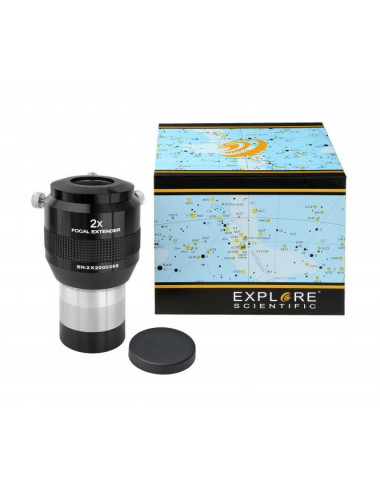 Multiplicateur de focale 2x 50,8mm Explore Scientific