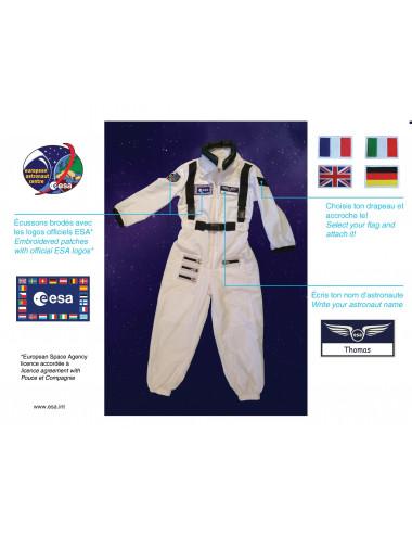 Combinaison Astronaute ESA blanche