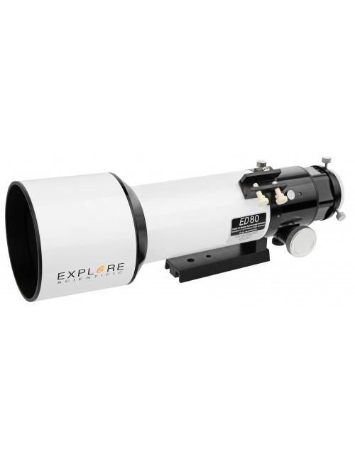 Lunette ED APO 80 F/6 FCD-100 Alu Hex Explore Scientific