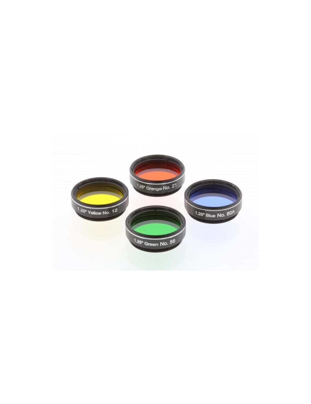 Kit filtres colorés planétaires 31,75mm n° 2 Explore Scientific