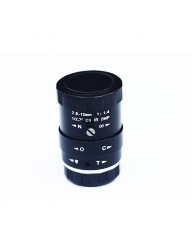 Objectif ZWO 2,8-12mm F1,4