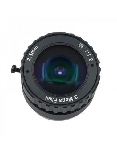 Objectif fish-eye 2,5mm ZWO