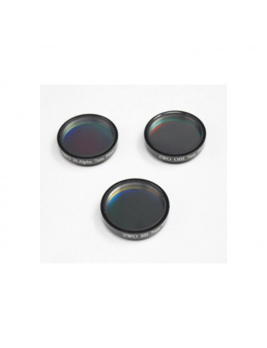 Set de 3 filtres SHO 7 nm 31,75 mm ZWO
