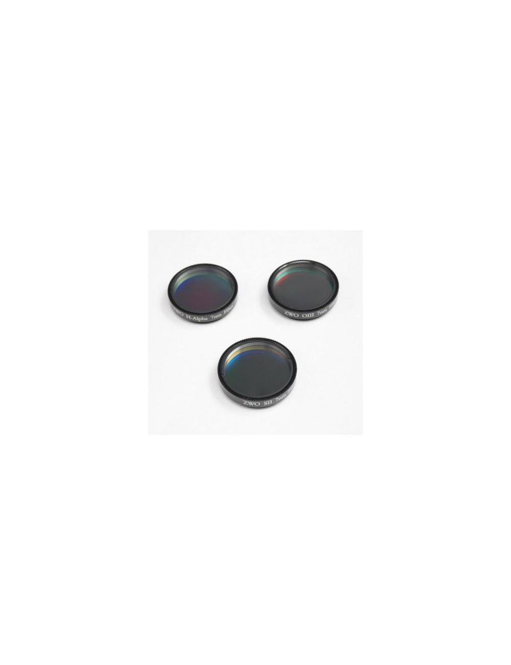 Set de 3 filtres SHO 7 nm 31 mm ZWO
