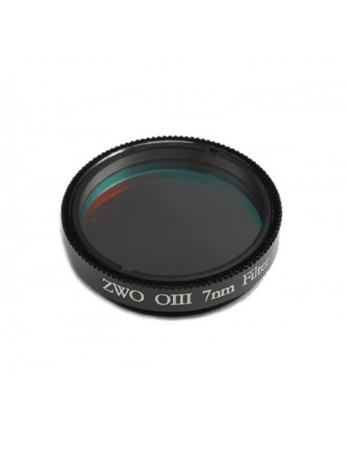 Filtre CCD OIII 7nm 31,75mm ZWO