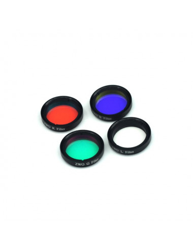 Set de 4 filtres LRGB 31,75mm ZWO