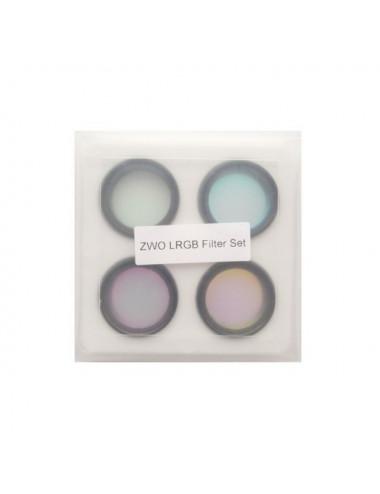 Set de 4 filtres LRGB 31mm ZWO