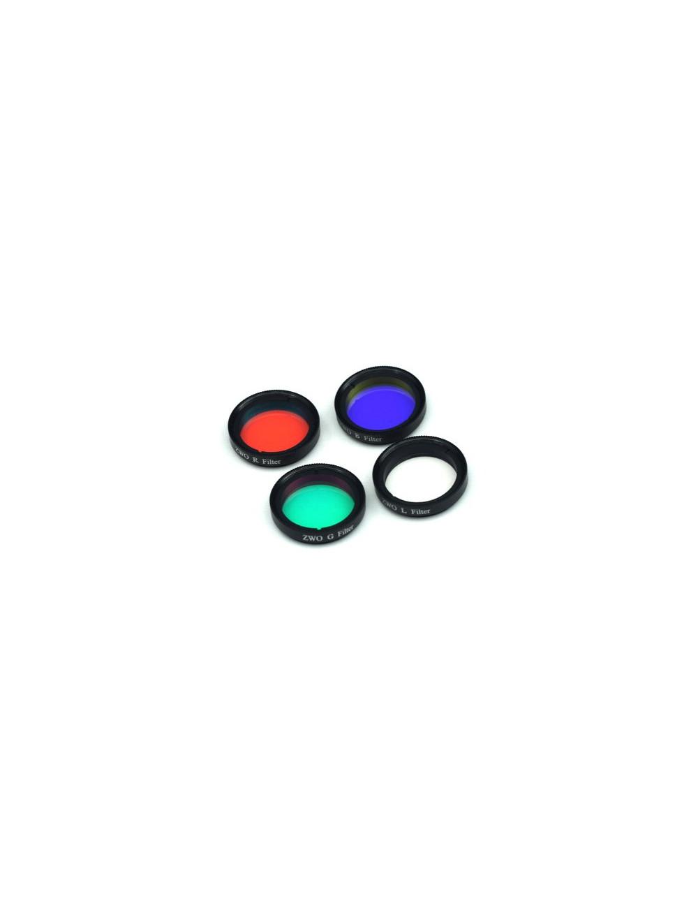 Set de 4 filtres LRGB 36mm ZWO