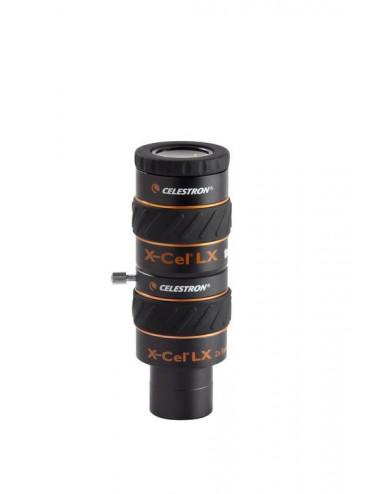 Barlow 31,75 mm 2x X-CEL LX Celestron
